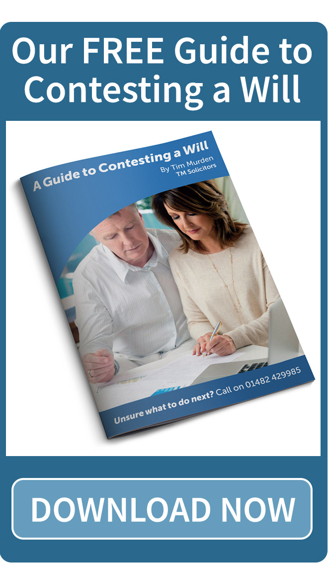A Guide to Contesting a Will - FREE download